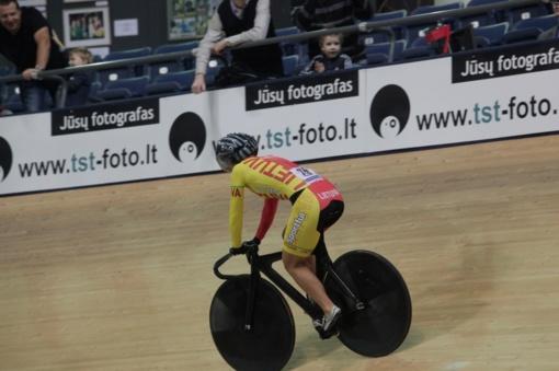 Panevėžio dviratininkės pasipuošė visų spalvų medaliais