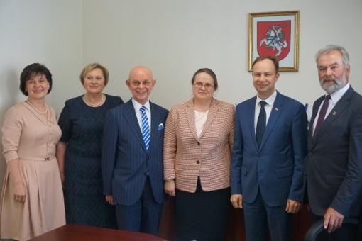 Lankėsi sveikatos apsaugos ministras Aurelijus Veryga