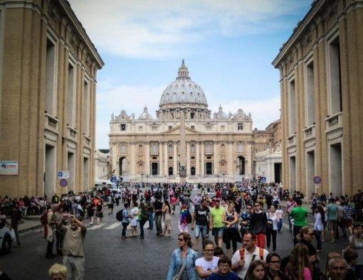 D. Trampas susitiks su popiežiumi