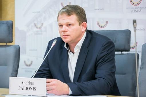 Seimo socialdemokratams vadovaus A. Palionis