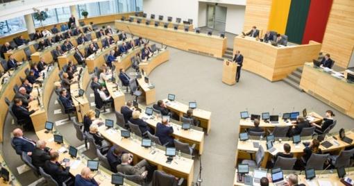 Seimas spręs, ar kreiptis į Konstitucinį Teismą dėl M. Basčio