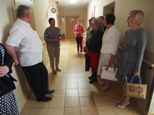 Kauno rajono seniūnus pasitiko atsinaujinantis Ežerėlis