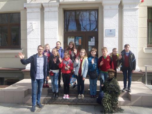 Šiaulių universiteto studentai bendraamžių patriotiškumą ugdo istorinėmis edukacinėmis veiklomis