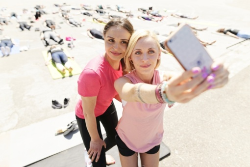 """Fitneso jogą išbandžiusi I. Mackevičienė: """"Gyvenimas yra judėjimas"""""""