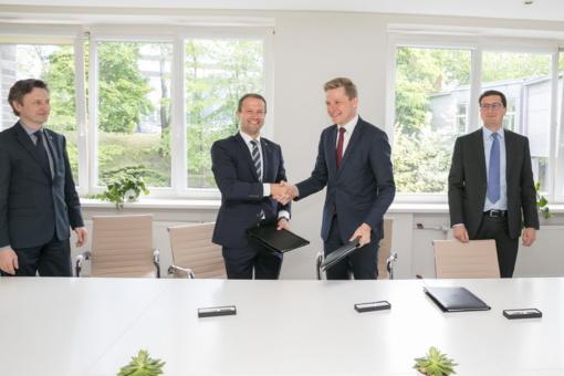 """Sostinės savivaldybė, """"Lietuvos energija"""" ir """"Vilniaus šilumos tinklai"""" sutarė dėl bendradarbiavimo"""