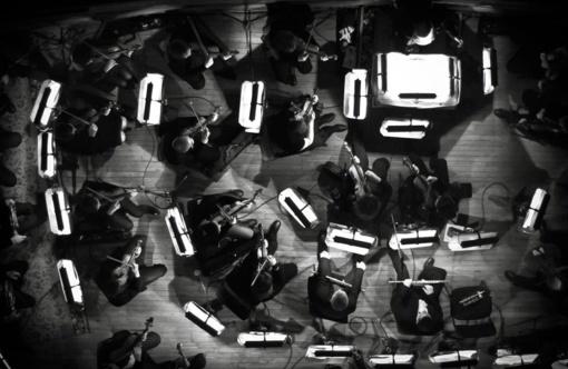 Orkestro repeticija - V. Kudirkos aikštėje