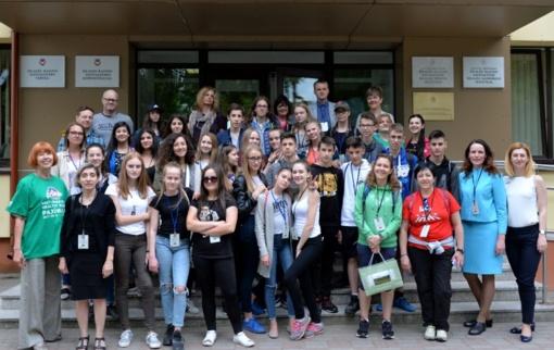Savivaldybėje viešėjo Erasmus programos dalyviai iš Ispanijos, Vokietijos, Suomijos ir Kipro