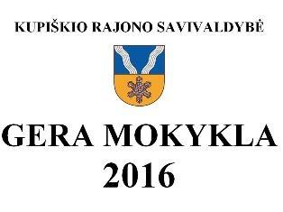 """Kupiškyje posėdžiavo konkurso """"Gera mokykla 2016"""" komisija"""