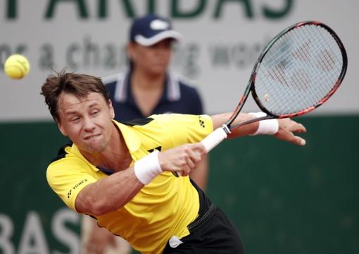 """Tenisininkas R. Berankis """"French Open"""" turnyre pralaimėjo pirmąją kovą"""