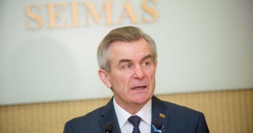 """Seimo Pirmininkas: """"Esame dėkingi skautams už lietuvybės išlaikymą tolimiausiose pasaulio vietose"""""""