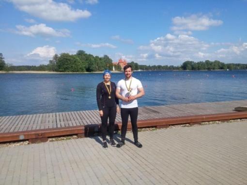 Irklavimo čempionate plungiškiai iškovojo medalius
