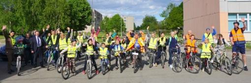 Plungėje antrus metus vykdomos masinės iškylos dviračiais