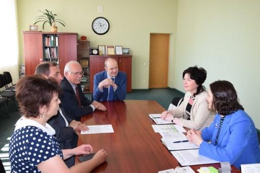 Susitikime aptartas bendradarbiavimas su Valstybine mokesčių inspekcija