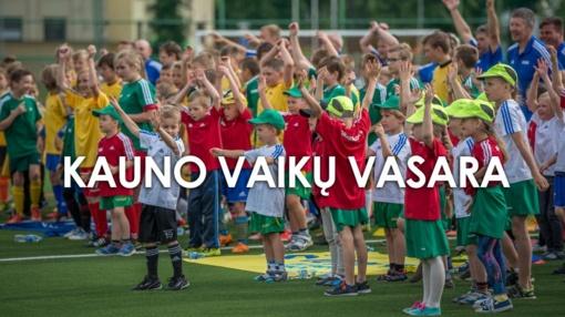 Kauno miesto dovana vaikams – nemokami užsiėmimai visą vasarą