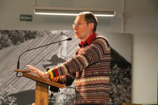 Pasvalyje viešėjo prof. Liudas Mažylis – žmogus, Berlyno archyvuose atradęs Lietuvos nepriklausomybės akto originalą