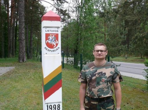 Tverečiaus užkardai vadovaus 38-erių majoras Marius Garuckas