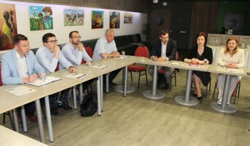 Rajono vadovai ir verslininkai kartu ieško galimybių, kaip pritraukti žmones į Kėdainius