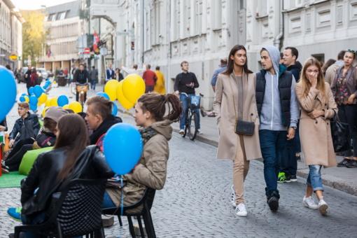 Vilniaus gatvės verslininkams bus lauko kavinių nuomos lengvatų