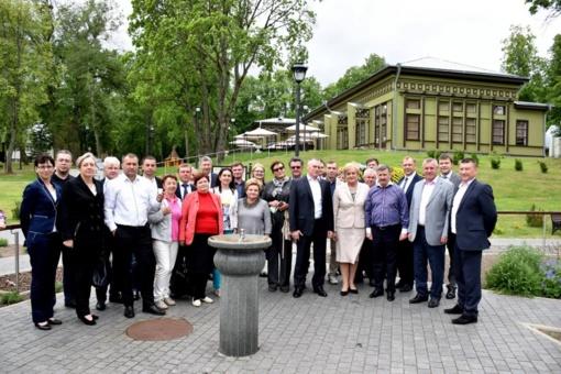 Birštone lankėsi Baltarusijos ekonomikos ministras, viceministras ir turizmo agentūrų atstovai