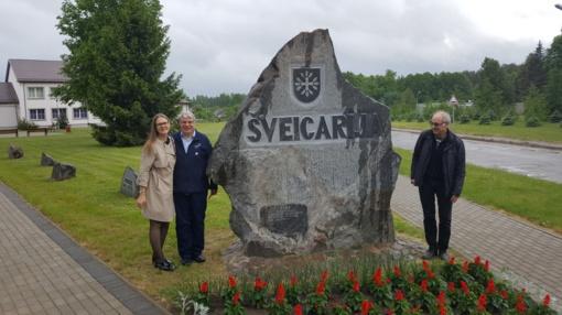 Šveicarijos seniūnijoje lankėsi Šveicarijos generalinis garbės konsulas