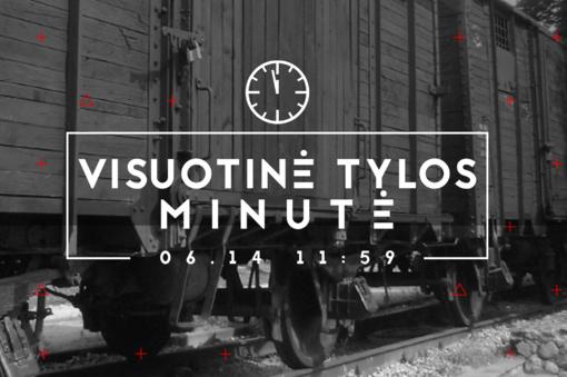Birželio 14-ąją Lietuvoje skelbiama Visuotinė tylos minutė