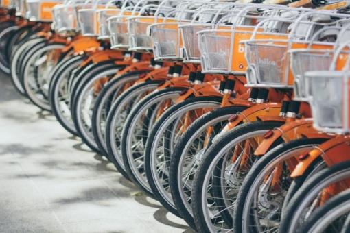 Apdovanota milijoninė kelionė miesto dviračiu