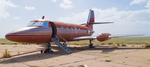 Aukcione parduotas E. Preslio lėktuvas