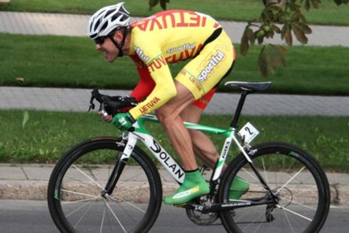 Dviratininkas G. Bagdonas lenktynėse Prancūzijoje - 21-as