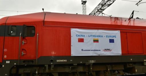 Lietuva sulaukė istorinio traukinio iš Kinijos