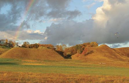 Išrinktas gražiausias Lietuvos piliakalnis