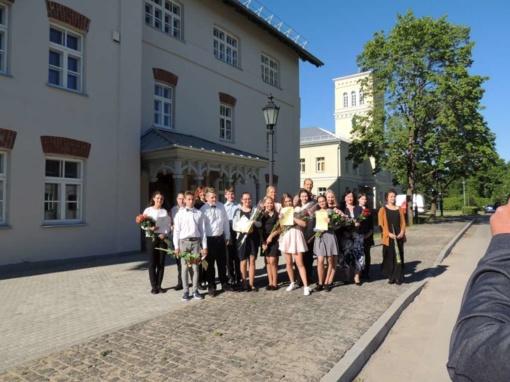 Rietavo Mykolo Kleopo Oginskio meno mokykloje baigėsi mokslo metai