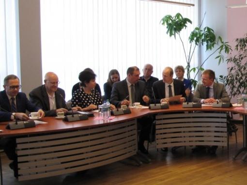 Savivaldybės vadovai dalyvavo 30-ajame Marijampolės regiono plėtros tarybos posėdyje