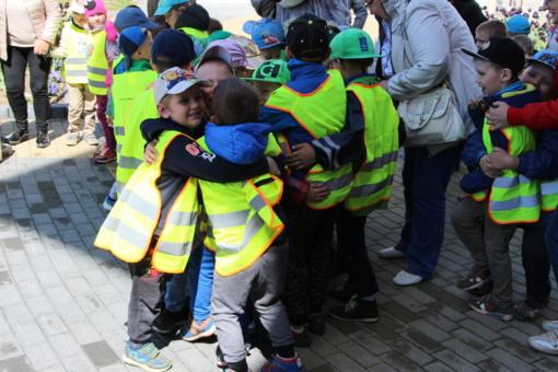Pasvalyje paminėta tarptautinė Vaikų gynimo diena