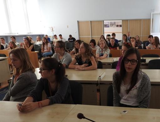 Ignalinoje poilsiauja mokiniai iš Serocko, Lenkijoje - ignaliniečiai