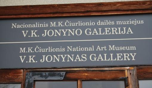 V. K. Jonyno galerijoje - K.S. Straigio skulptūrų paroda