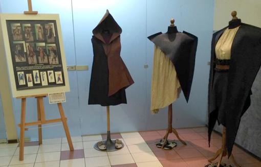 Parodoje – Utenos kolegijos studenčių kūrybiniai darbai