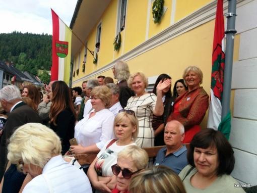 Kelmiškiai lankėsi Austrijoje