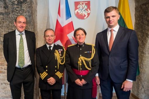 Akredituota naujoji Jungtinės Karalystės gynybos atašė Lietuvai
