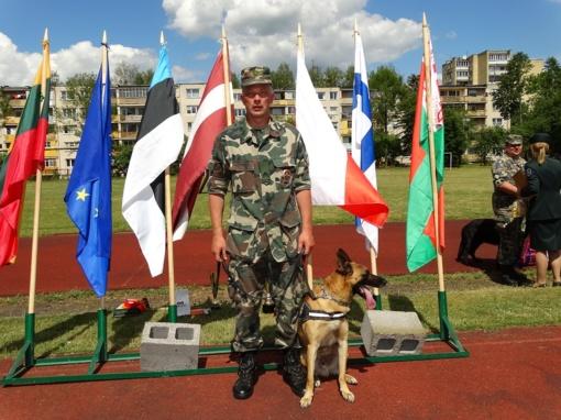 Tarnybinių šunų čempionate triumfavo nauja žvaigždė - belgų aviganis Grikis