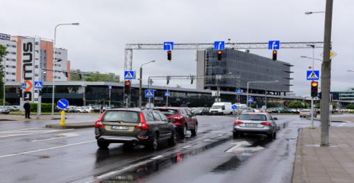 Šiaurės miestelyje Vilniuje – didesnis eismo saugumas