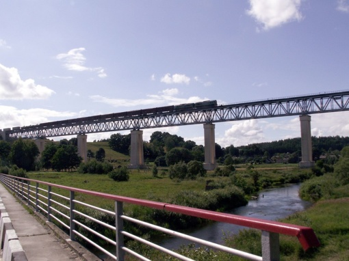 Pirmą kartą istorijoje turistams atvertas Lyduvėnų tiltas