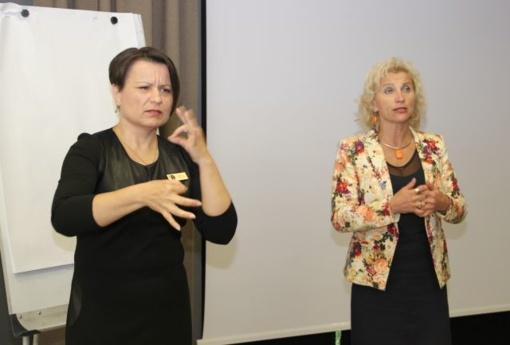 Diskusijoje svarstyta neįgaliųjų integracija