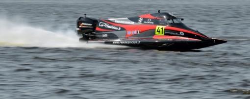 F2 vandens formulių pasaulio čempionato kvalifikacijoje – įspūdingas lietuvio pasirodymas