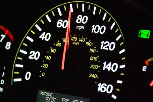 Per savaitę Kauno regiono keliuose užfiksuoti 108 leistino greičio viršijimo atvejai