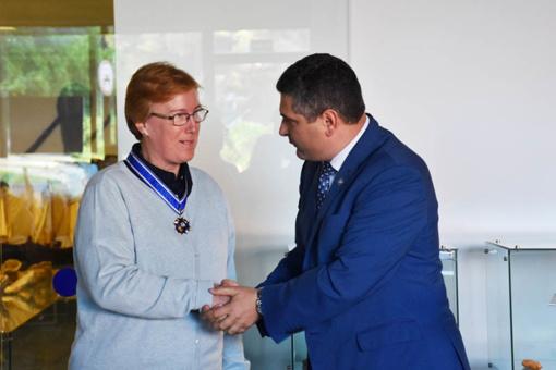 Neringos garbės ženklu apdovanota doc. dr. Nijolė Strakauskaitė