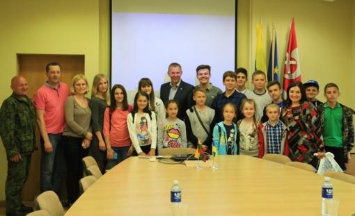 LDK Kęstučio batalione – jaunųjų šaulių ir ukrainiečių vaikų stovykla