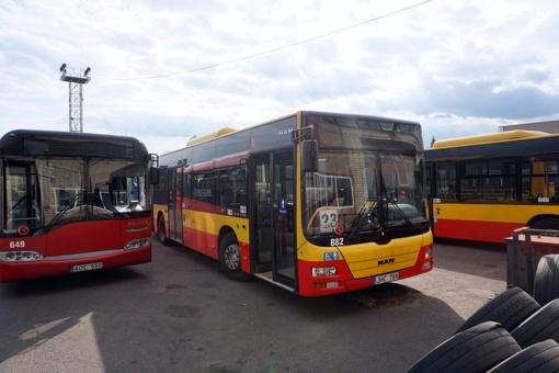 Daugėja miesto viešuoju transportu patenkintų kauniečių