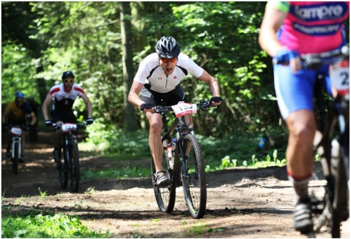 Šalies dviračių plento čempionate Gargžduose - E. Strainytės ir I. Konovalovo pergalės