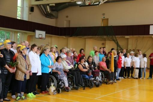 """""""Bastilijos"""" sporto komplekse vyko kasmetinės neįgaliųjų sporto varžybos"""