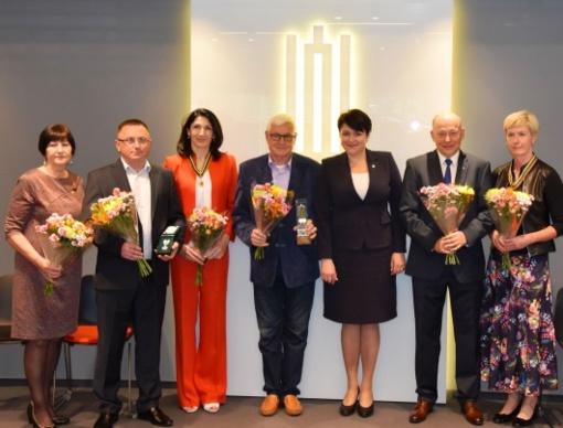 Įteikti Lietuvos tautinio olimpinio komiteto apdovanojimai